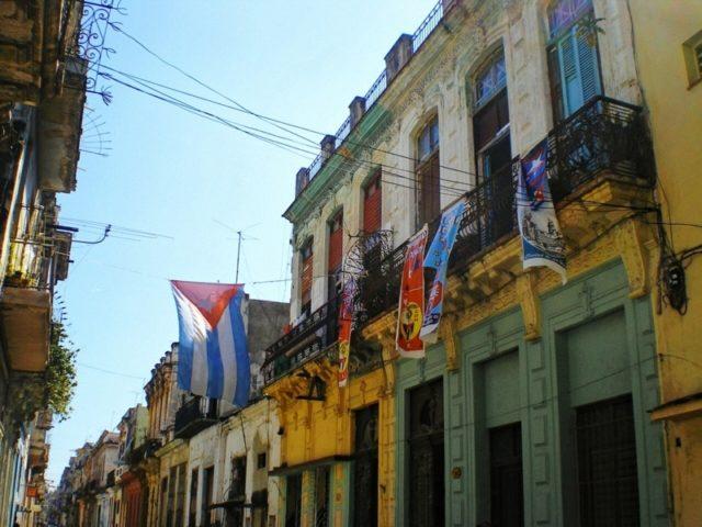 キューバ・ハバナの街並み